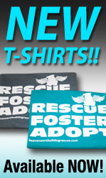 HeavenSent Bulldog Rescue T-shirts 2015